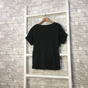 All Saints Tops - All Saints Diego Tee Gray Short Sleeve Size Small